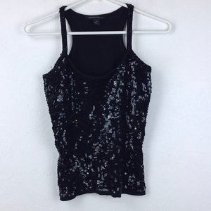Kenneth Cole Tops - Black Kenneth Cole sequined top